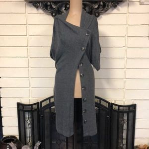 Grey cover sweater